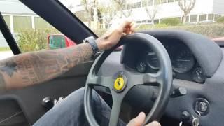 Driving Ferrari F40