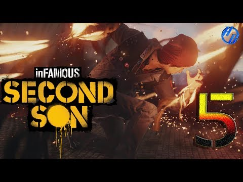 Infamous Second Son Gameplay  Part 5 - The Gauntlet (PS4)   Let's Play   Review Infamous Second Son