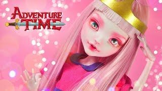 Princess Bubblegum (Adventure Time) | Custom MH Doll Repaint | Mozekyto #5