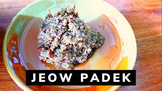 Lao Food - How to Make Jeow Padek