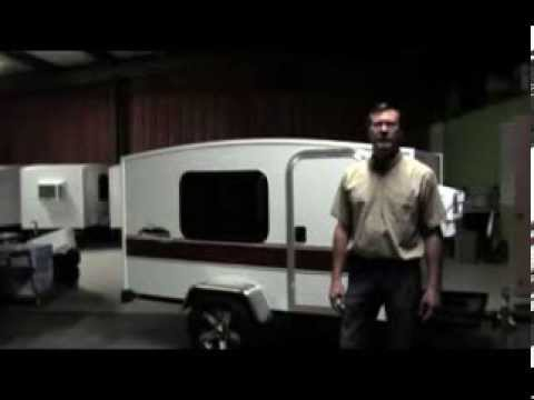 Runaway Campers #100 America's Most Affordable Mini Camper Teardrop Alternative Camping Trailer