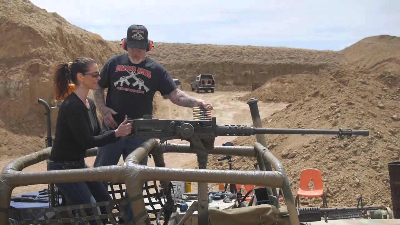 Humvee Door Versus M2 50 Cal Machine Gun Youtube
