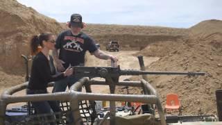 HUMVEE DOOR VERSUS M2 50 CAL MACHINE GUN