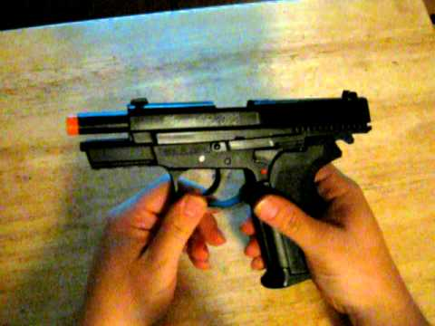 KWC Sig Sauer SP2022 (Sig Pro) Airsoft Review