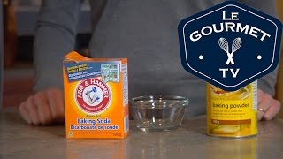 Baking Soda Vs. Baking Powder - LeGourmetTV