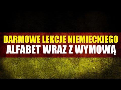 JĘZYK NIEMIECKI - Alfabet (Wymowa) - Darmowe Lekcje Niemieckiego.