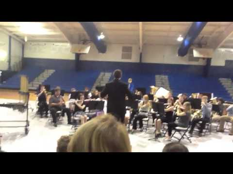 Cotter high school band warm-up