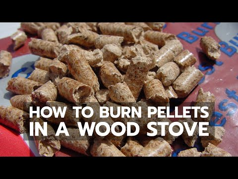 How to Burn Wood Pellets in Any Ordinary Woodstove or Fireplace