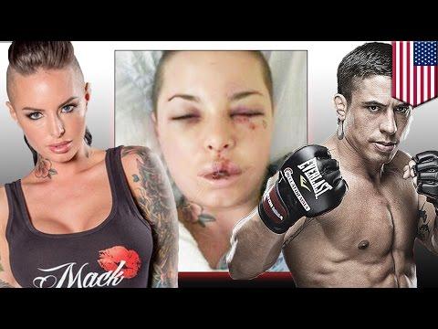Gwiazda porno Christy Mack brutalnie pobita przez zawodnika MMA.