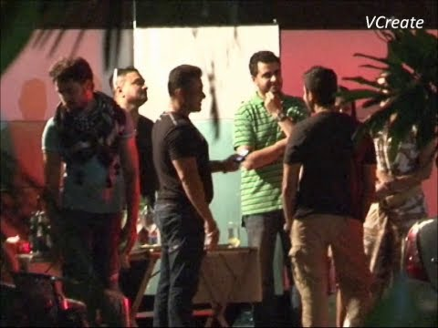 Salman Khan And Imran Khan Boozing Together. video