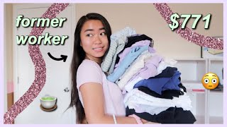 ~HUGE~ BRANDY MELVILLE BACK TO SCHOOL TRY-ON CLOTHING HAUL
