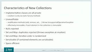 Collections Framework Enhancements in JDK 9 by Stuart Marks