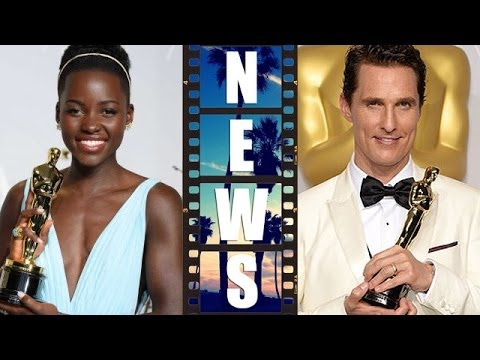 Oscars 2014 Winners & Review : Lupita Nyong'o, Matthew McConaughey, Frozen, 12 Years a Slave