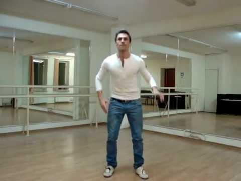 7 базовых элементов клубного танца. Базовый кач №2