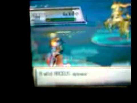 Action Replay DSi on my Pokemon Soul Silver