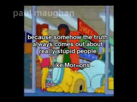 MORmONISM A LAUGHING STOCK v