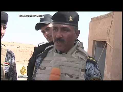 Fierce fighting rages near airbase in Iraq's Anbar