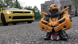 Transformers Bumblebee Bust Review and Unboxing PRIME 1 STUDIO Chevrolet Camaro