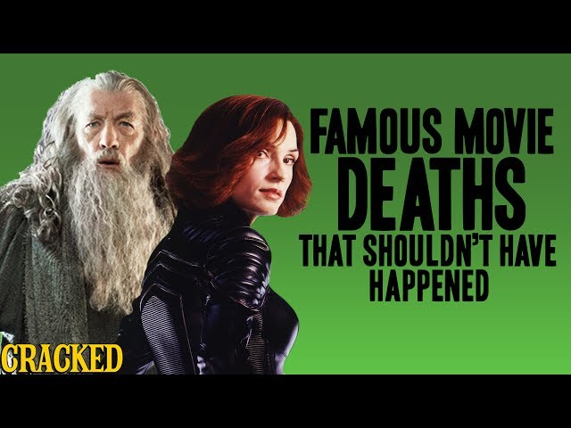 Famous Movie Deaths That Shouldnt Have Happened Lord Of The Rings, X-Men