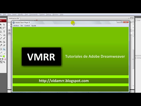 Curso de Adobe Flash CS3 - Formatos de publicación