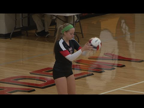 Joliet Catholic Academy vs. Benet Academy Girls Volleyball, October 9, 2014