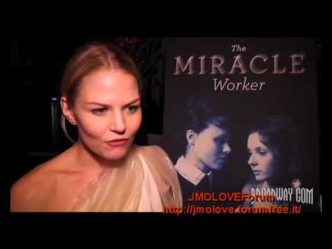 Jennifer Morrison - The Miracle Worker - Aftershow Party Interview #2