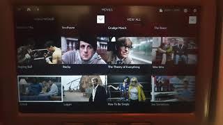 Qatar airways inflight entertainment Hollywood movies
