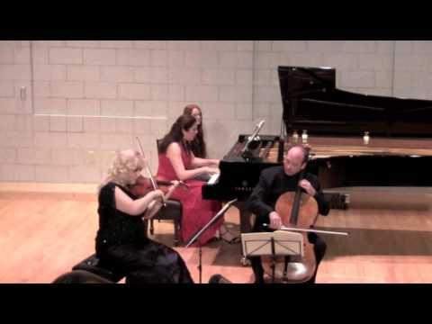 Summit Music Festival 2013 Mendelssohn Trio in d minor Molto allegro ed agitato