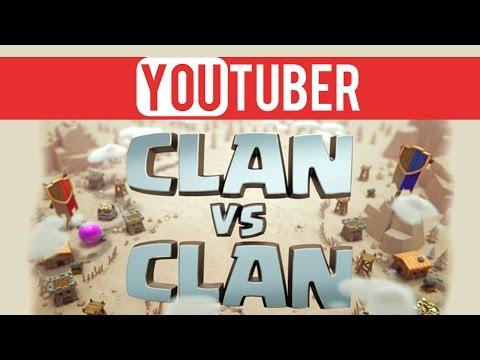 clash of clans deutsch | YouTuber Clan War | Alles wieder GUT!