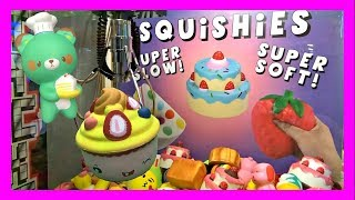 SO MANY SQUISHIES! EPIC WINS FROM SQUISHY CLAW MACHINE!