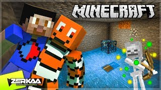 Building  A Skeleton Mob Grinder To Boost XP (Minecraft #26 with Vik)