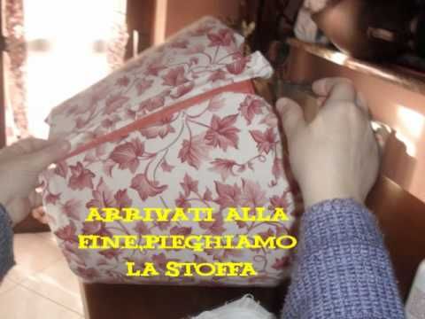 lampadario stoffa : Come vestire di nuovo una lampada - YouTube
