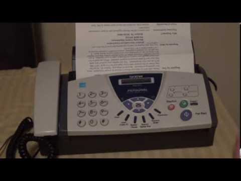 how to send a fax from a machine