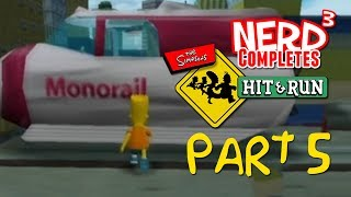 Nerd³ Completes... The Simpsons: Hit & Run - Part 5