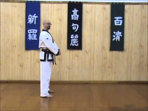 Tang Soo Do - Single Step Drill - Sequence 4 Image 1