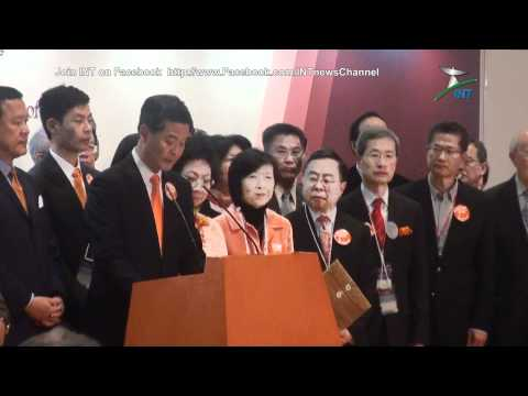 2012.03.25 - 'Chief Executive Election polling day' - CY LEUNG has become CE of Hong Kong