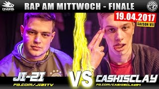 RAP AM MITTWOCH KÖLN: JI-ZI vs CASHISCLAY 19.04.17 BattleMania Finale (4/4) GERMAN BATTLE