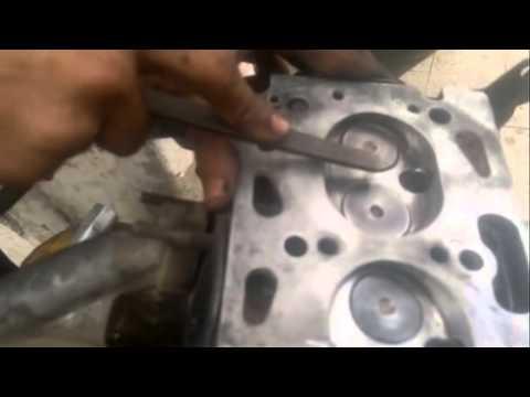 Engine Cylinder Head Grooves
