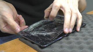 Разбит сенсорный экран. Планшет Apple iPad mini. Замена тачскрина без пайки