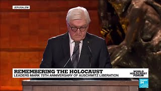 "Steinmeier: ""75 years later I stand before you all laden with the heavy, historical burden of guilt"""