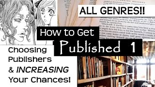 Choosing a Publisher & How to INCREASE Chances of Getting Published ? How to Get Published (part 1)