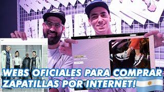 Cómo comprar zapatillas por internet en Argentina! - Webs Oficiales