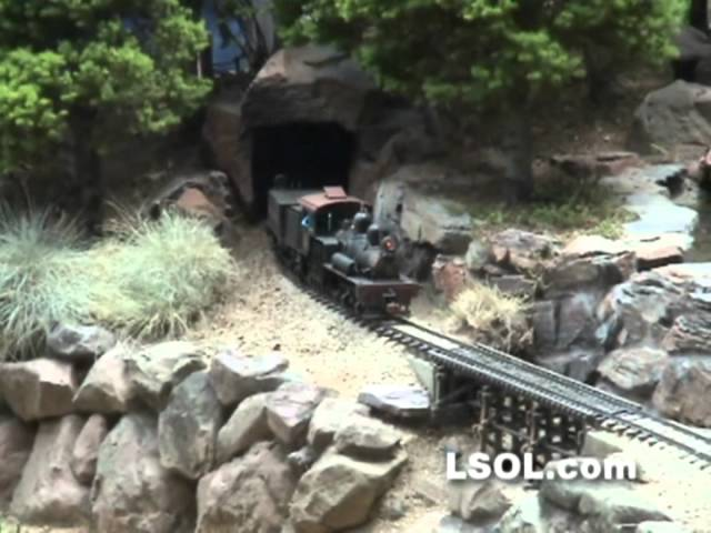 Garden Trains: Bob Uniack's Sierra Grande and Pacific Garden Railroad Tour