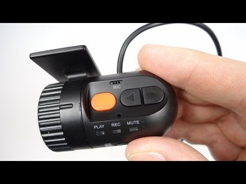 The Smallest Car DVR Dash Cam - REVIEW