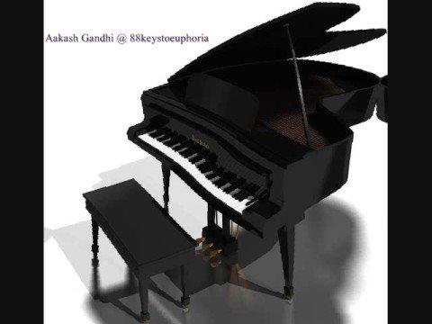 Jiya Dhadak Dhadak (Kalyug) Piano Cover by Aakash Gandhi