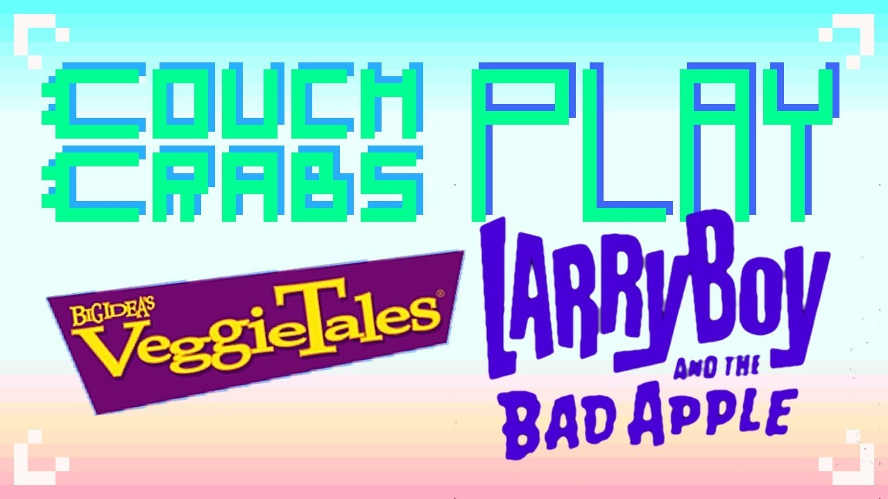 Couch crabs veggietales larryboy and the bad apple playstation 2