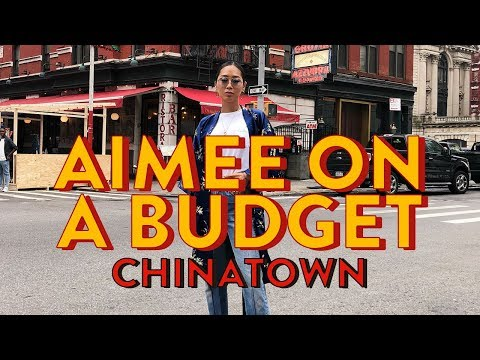 Aimee on a Budget: Chinatown @ NYFW | Aimee Song