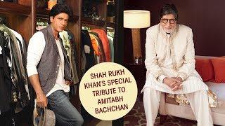 When Shah Rukh Khan paid tribute to Amitabh Bachchan