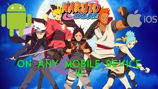 Naruto Online on Android and IOS