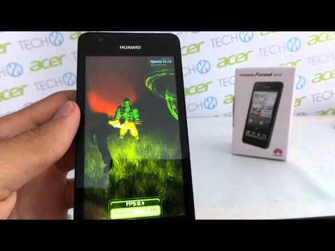 Huawei Ascend G510 AnTuTu benchmark video | Tech2.hu